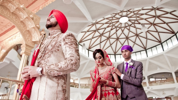 Epic Sikh Wedding in West London