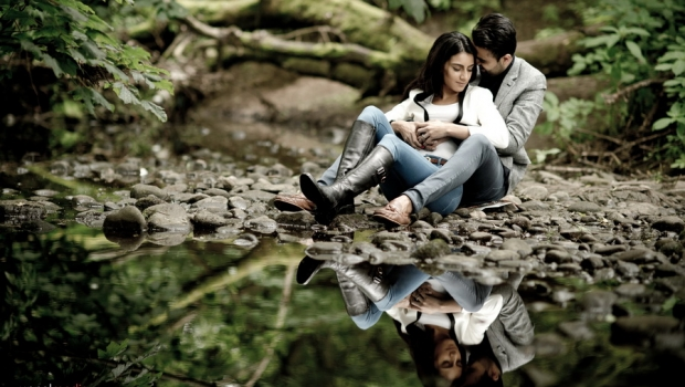 Contemporary Engagement Shoot Ilkley