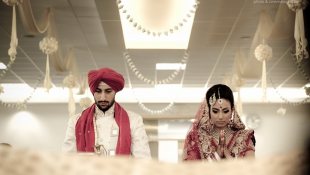 Pulsating Sikh Wedding With Stunning Couple, Walsall