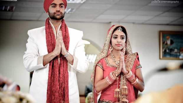 Intimate Sikh Wedding in Leeds